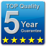 Feldherr offers 5 years guarantee